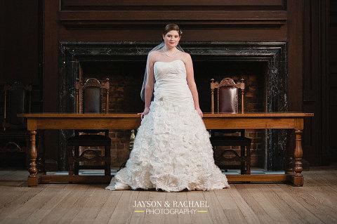 Katie's Colonial Williamsburg Bridal Portraits at Wren Chapel