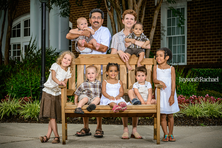 Family Portraits in Williamsburg VA by Jayson and Rachael Photography, Williamsburg Family Photographer