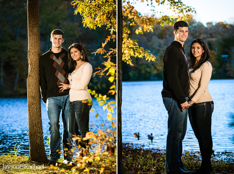 Family portraits at waller mill park in williamsburg va