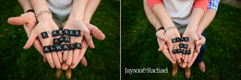 Amanda and Josh's William and Mary Engagement Session