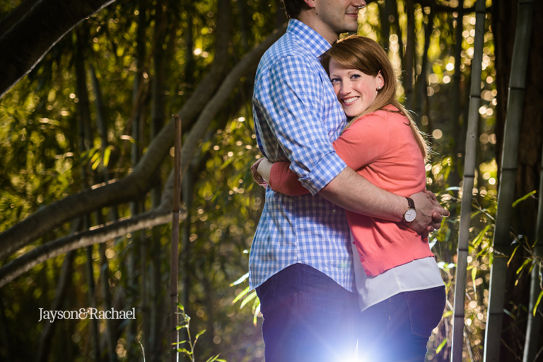 Engagement pictures at William and Mary College
