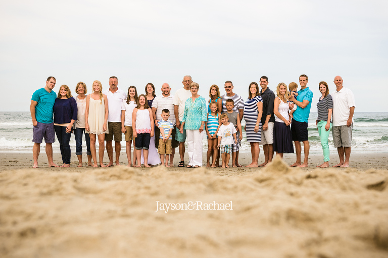 Family Portraits in the Outer Banks of NC by Jayson and Rachael Photography