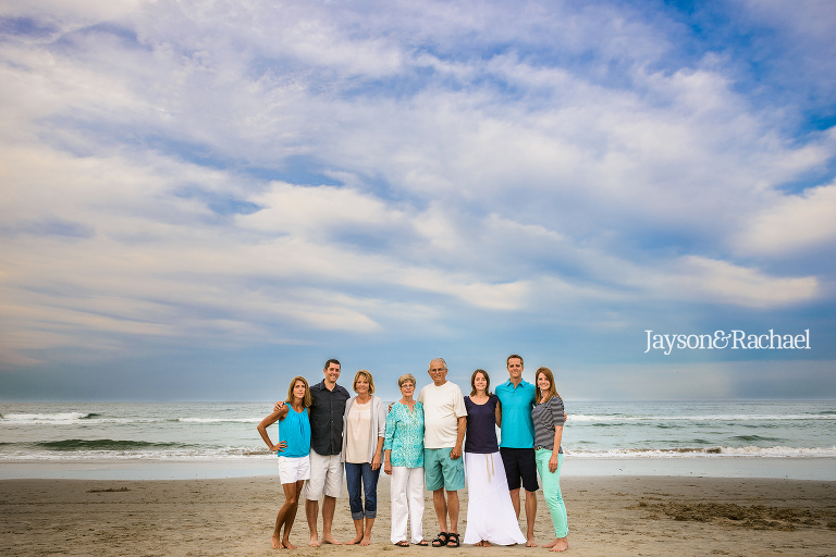 Family Portraits in Corolla NC by Jayson and Rachael Photography