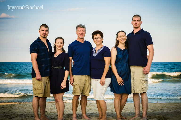 Outer Banks Family Photographer Jayson and Rachael