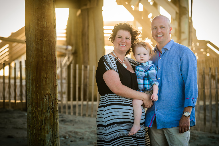 Family Portraits at Rodanthe Fishing Pier. Outer Banks Family Photographer