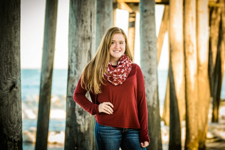 Senior Portraits in the Outer Banks